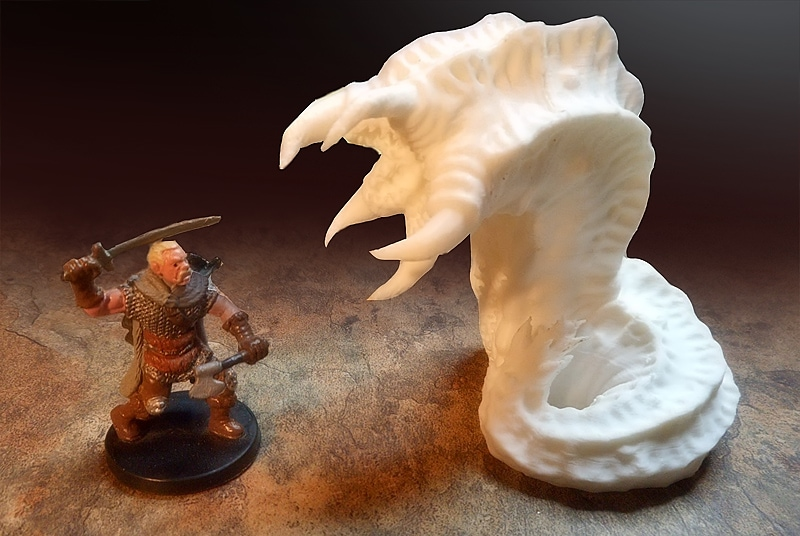 3D_leech_printable_rpg_miniatures queen