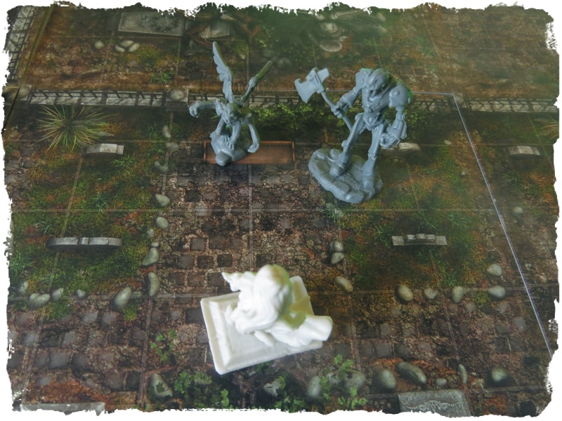 cemetery graveyard map tile set role playing game