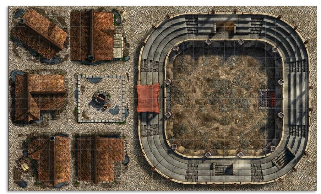 modular arena medieval city
