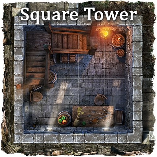 rpg fortress map tile set