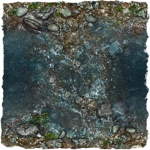 rpg moat river map tile set