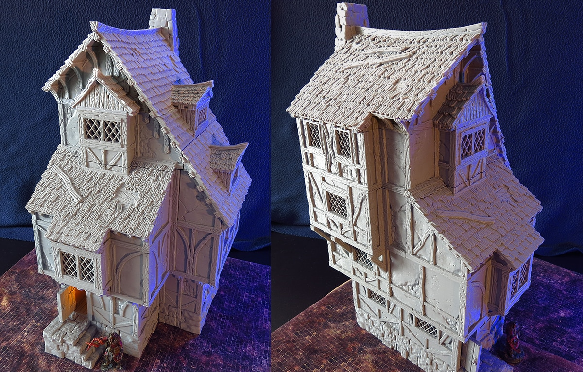picture regarding Printable Buildings named 3d printable constructions kickstarter 4 Black Scrolls Online games